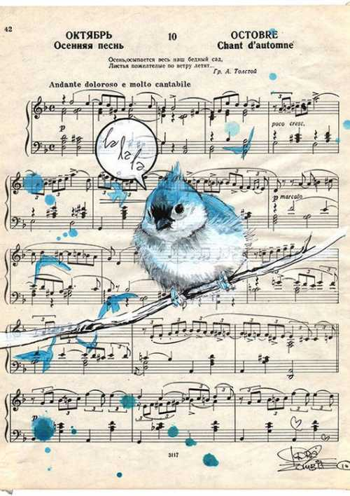 Blue Bird Song