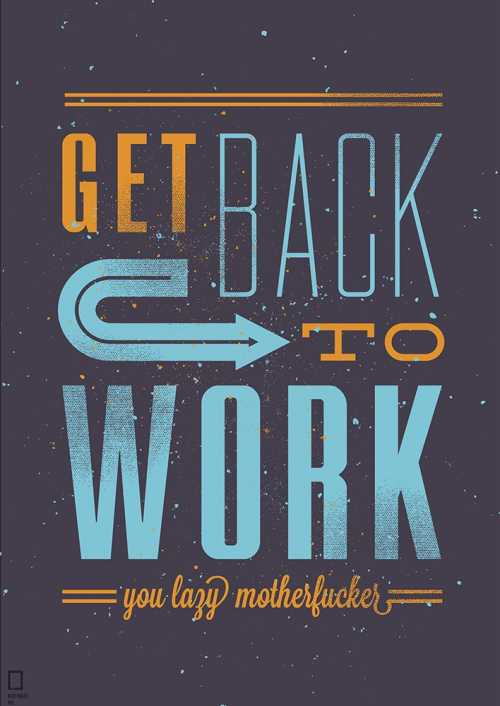 Get Back To Work