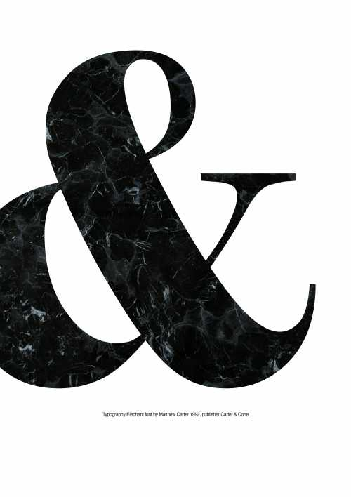 Ampersand (marble)